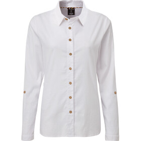 Sherpa Kiran Long Sleeve Shirt Women katha white